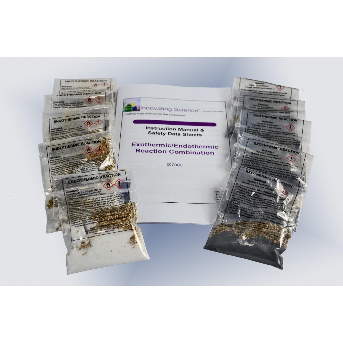 Exothermic Endothermic Reaction Combination Kit
