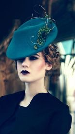 Chapeau Boater, création modiste Jane Taylor Millinery - Crédit photo Jane Taylor Millinery