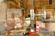 Vitrine d'une boutique de mosaïque