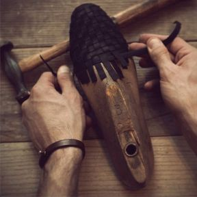 tressage_chaussure_noir_artisan