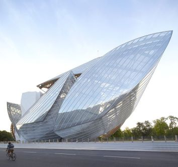 Fondation Louis Vuitton - Franck Gehry - Crédit photo Pinterest