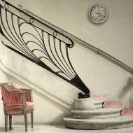 Escalier en fer forgé, theatre des Champs Elysées - Photo Pinterest
