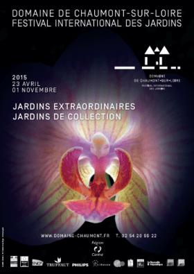 """Affiche de l'édition 2015 avec comme thématique: """"Jardins extraordinaires"""" - Photo site"""