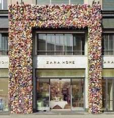 Retail design Zara Home Milan, 2015 - Photo Pinterest