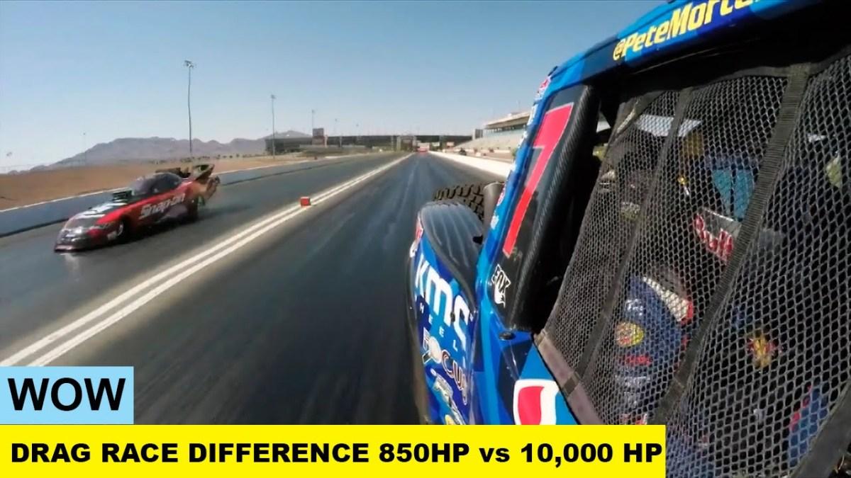A diferença entre 850 e 10 mil HP