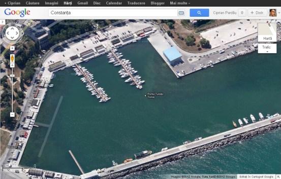 constanta - portul turistic Tomis
