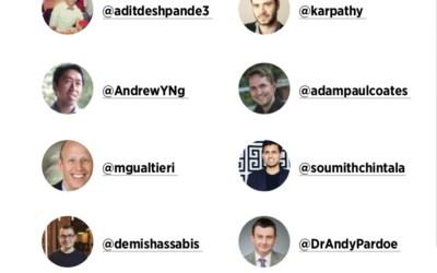 DZone – Top 10 Artificial Intelligence Twitter Influencers