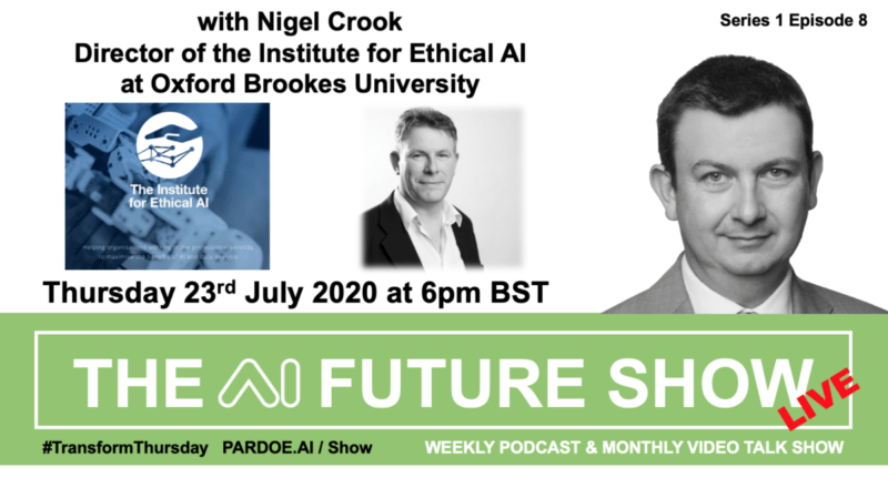 THE AI FUTURE SHOW – Live Talk on Thursday 23rd July 6pm BST