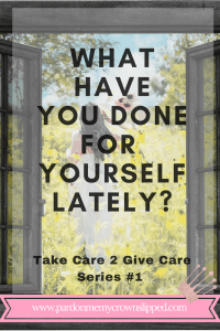 self care family caregiver mom sandwich generation