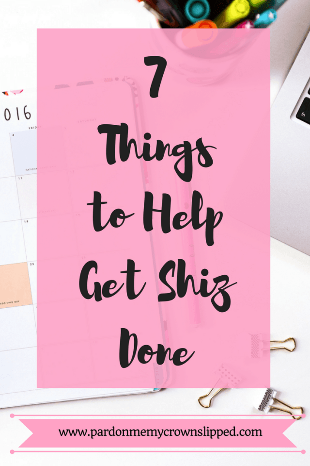 Getting Things Done Blogger Mom