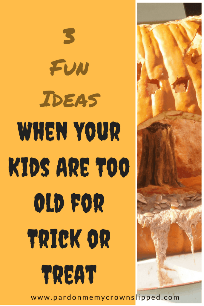 Kids too old for trick or treat? Keep it fun by trying one of these!