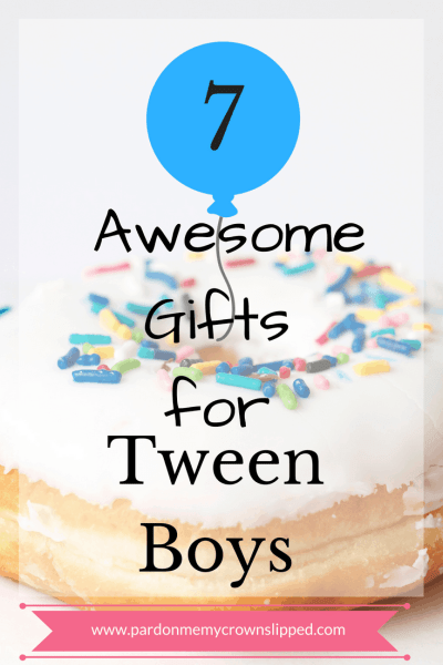 Check out these gifts for your tween boy #tween #gifts #giftideas #tweengifts #boys