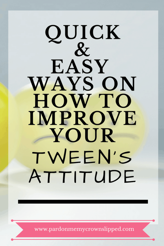 When tween attitude takes over at your house, see if one of these is the problem #tween #attitudeproblem #puberty
