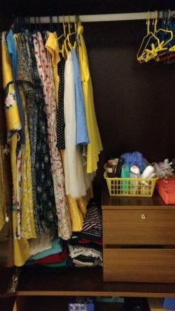 Day 171 - Day before uni closet organisation