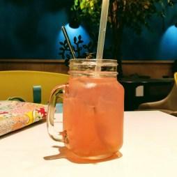 Day 187 - Pink grapefruit yuzu fizz at Wanna Cuppa.