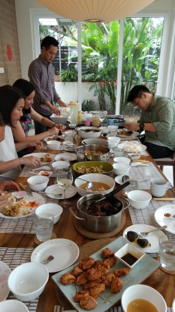 Day 190 - Chinese New Year feasting!