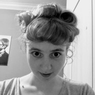 Day 195 - Practicing styling bumper bangs for my new role as lindy hop hairdresser ;)