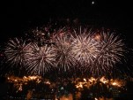 Day 18 - National Day firework display.