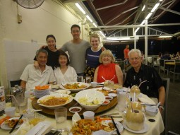 Day 100 - A family dinner!