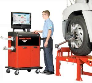 Heavy-Duty Wheel Alignments with Hunter Engineering