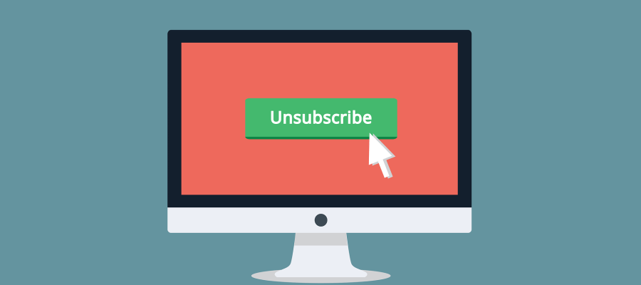 unsubscribe image