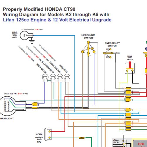 honda trail 70 wiring diagram 29 wiring diagram images wiring Honda Mt250 Wiring Diagram 1966 honda trail 90 wiring diagram honda trail 90 turn signals ct90 lifan 12 volt conv 500x500 resize