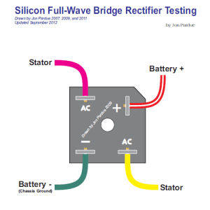 Silicon Bridge Full Wave Rectifier Testing  Home of the