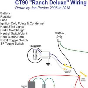 Honda CT90 Ranch Wiring  Home of the Pardue Brothers