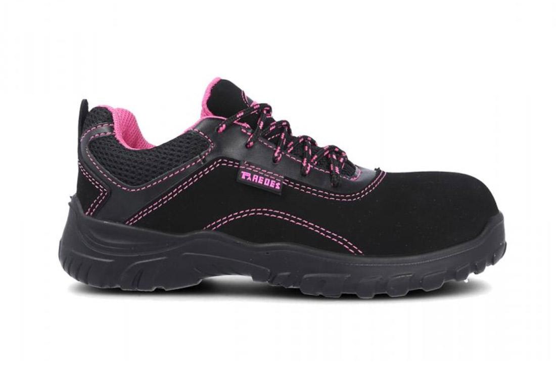 Calzado seguridad para mujer. Modelo zapatilla Galio Dalia. Linea Dinamic. Paredes Seguridad