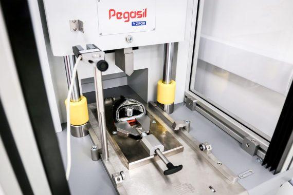 Máquina de pruebas Impacto de puntera en calzado de seguridad