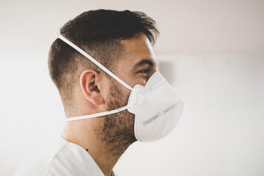 mascarillas paredes seguridad