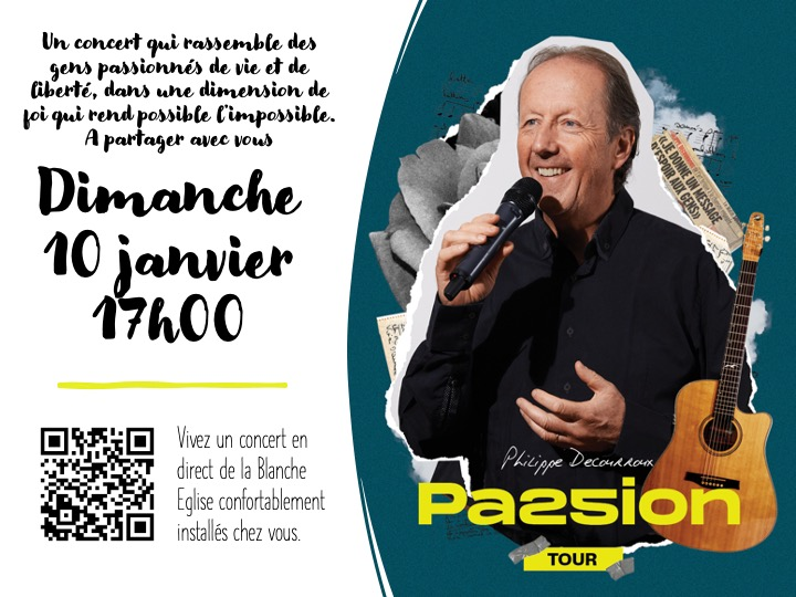 Affiche Concert Philippe Decourroux