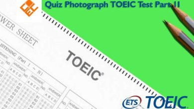 Photo of Quiz Photograph TOEIC Test Part 2