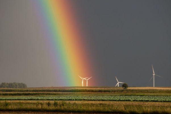 7 warna pelangi / rainbow. dalam Bahasa Inggris dan Terjemahan