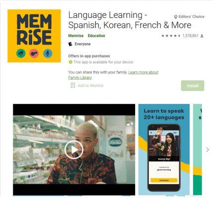 Memrise Aplikasi Android Terbaik untuk Belajar Bahasa Inggris dengan Cepat