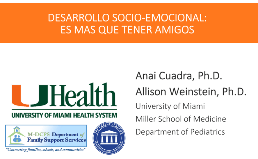 Mental Health Webinar Spanish