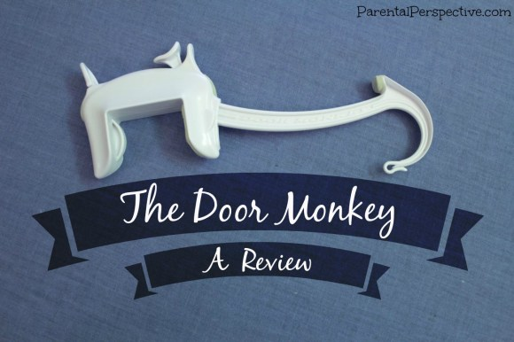A review of the Door Monkey door lock and pinch guard | Parental Perspective
