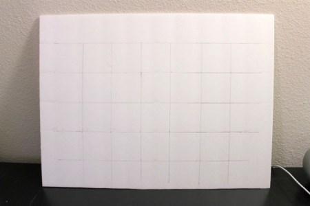 DIY Washi Tape Calendar | Parental Perspective