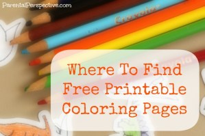 Where To Find Free Printable Coloring Pages