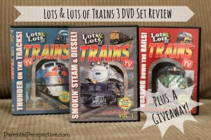 Lots & Lots of Trains…A Review and Giveaway