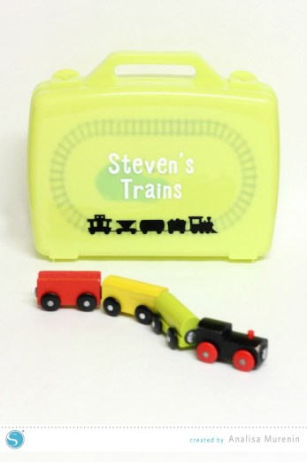 Travel Train Case | Silhouette Kids Craft