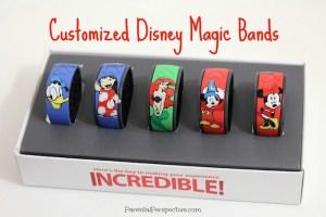 Customized Disney Magic Bands