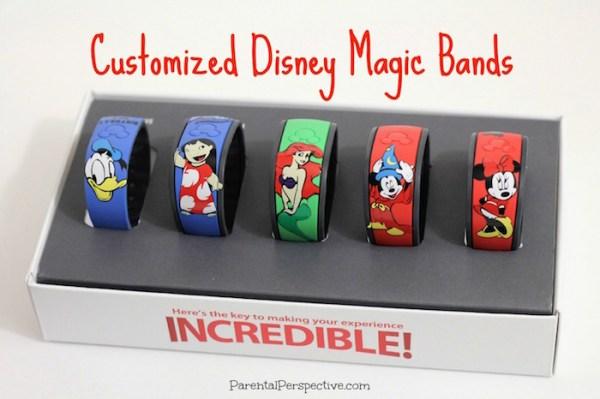 DIY customized Disney Magic Bands