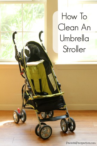 An easy and inexpensive way to keep your stroller looking brand new!