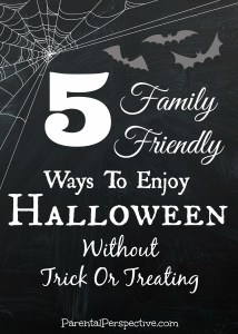 Enjoy Halloween Without Trick Or Treating