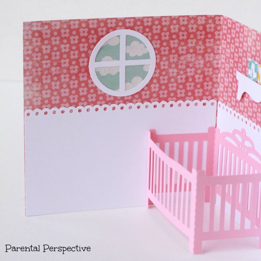 Lori Whitlock Baby Crib Card