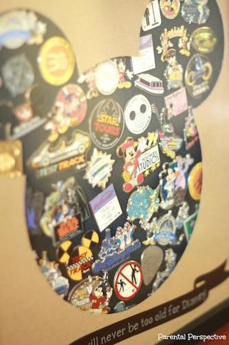 DIY Disney Pin Trading Display Case | Parental Perspective