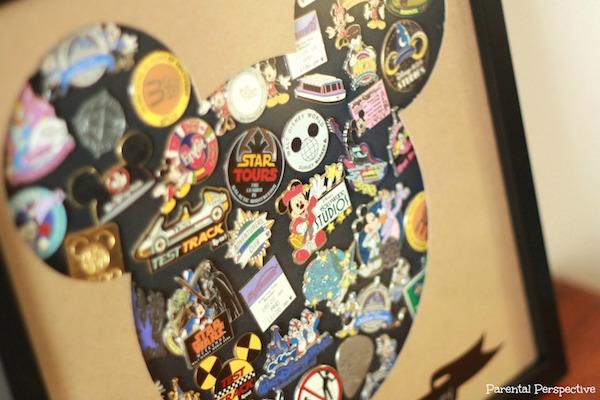 DIY Disney Pin Trading Display Case