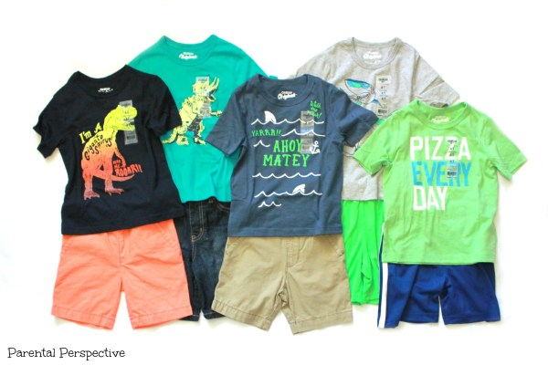 How to build a playful mix and match spring wardrobe with OshKosh B'Gosh | ParentalPerspective.com | #ImagineSpring #IC #sponsored