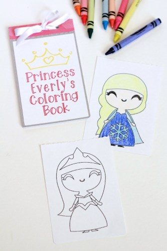 Create a kids coloring book with designs you already have in your Silhouette library | ParentalPerspective.com